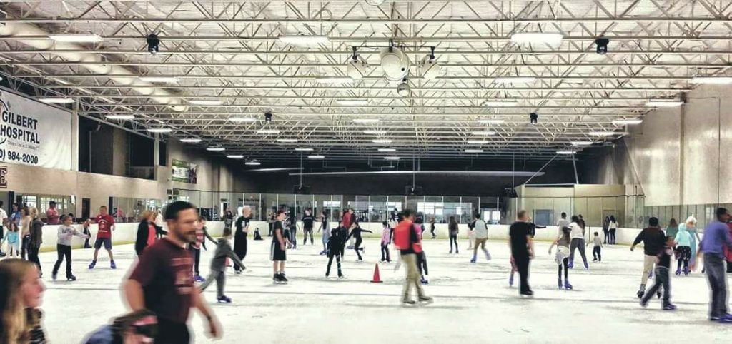 phoenix indoor AZ ice