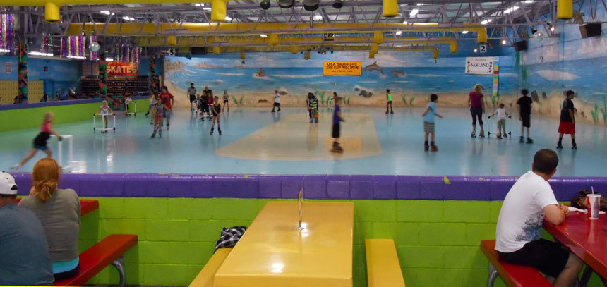 phoenix indoor skate land